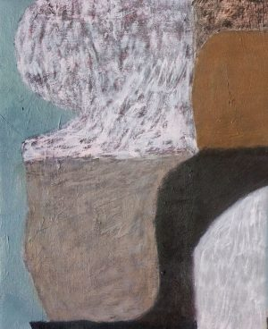 Diana Miller - A Numbers Game - Abstract Painting