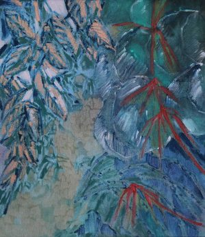 Amy Wright - Ode To The Garden: I Went The Other Way - Landscape Painting