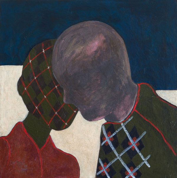 Kerrie Oliver - Sometimes It's What We Don't Say That Is More Important - Painting