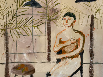 Darcy McCrae - Waiting Room 2 - Painting