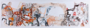 Etching Out A Path (Karijini) - Melissa Boughey - Landscape Painting