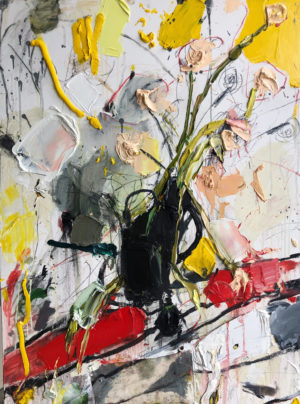 Mitchell Cheesman - Syd's Vase - Oil Painting