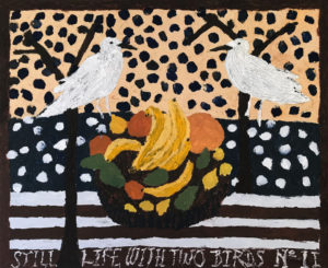 Still Life With Birds II - Darcy McCrae - Painting