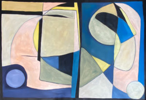 Lino I - Nuñez Rojas - Abstract Painting